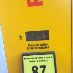 Photo taken at Shell by Donna B. on 8/21/2014