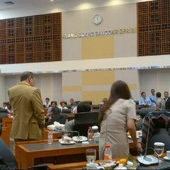 Photo taken at Ruang Rapat Badan Anggaran DPR RI by Handry S. on 6/3/2013