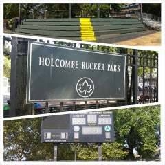 Photo taken at Rucker Park Basketball Courts by Jerryn C. on 8/20/2014