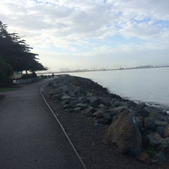 Photo taken at Marina Park by Jessica C. on 2/7/2015