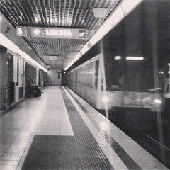 Photo taken at Metro Porta Romana (M3) by Michele S. on 6/24/2013