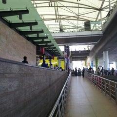 Photo taken at Rajiv Gandhi International Airport (HYD) by Shubhankar V. on 10/22/2012