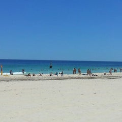 Photo taken at Cottesloe Beach by Luiz Henrique S. on 12/10/2012