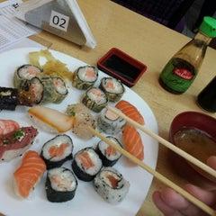 Photo taken at Wok Sushi by Thiago C. on 2/21/2014