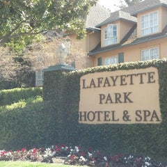 Photo taken at Lafayette Park Hotel & Spa by Bill G. on 5/9/2013