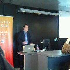 Photo taken at Entrepreneurship Area La Salle Technova Barcelona by David F. on 12/19/2011