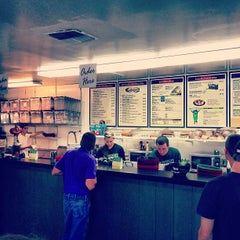 Photo taken at Mr. Pickles Sandwich Shop by Michael F. on 10/14/2012
