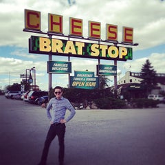 Photo taken at The Brat Stop by James Q. on 9/23/2012