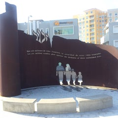 Photo taken at Holocaust Memorial Monument by Adam S. on 2/13/2015