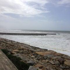 Photo taken at Praia de Cortegaça by Rafael C. on 3/9/2013