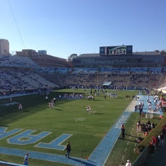 Photo taken at Kenan Memorial Stadium by Ben C. on 11/24/2012