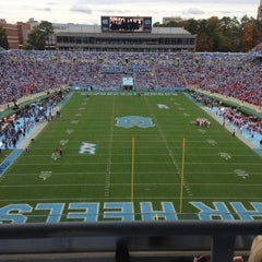 Photo taken at Kenan Memorial Stadium by Ben C. on 10/27/2012