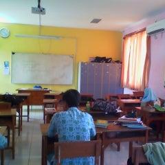 Photo taken at SMA Muhammadiyah 2 Sidoarjo by Damar N. on 3/13/2013