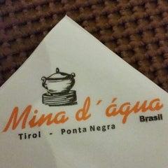 Photo taken at Restaurante Mina d'Água by Carlos v. on 12/13/2014