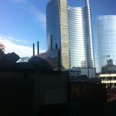 Photo taken at Passante Porta Garibaldi (linee S) by Olesya 👑 S. on 10/20/2012