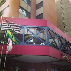 Photo taken at Escola Superior de Propaganda e Marketing (ESPM) by Célio F. on 4/6/2013