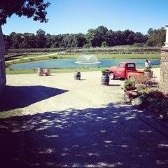 Photo taken at Chamard Vineyard by Jeremy H. on 9/15/2012