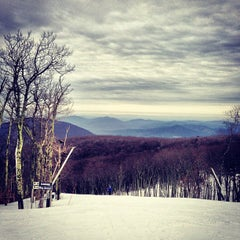 Photo taken at Wintergreen Resort by Eric S. on 2/24/2013