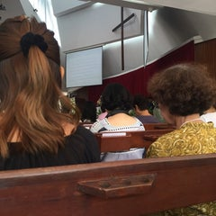 Photo taken at The First Church of Chiang Mai โบสถ์คริสตจักรที่ 1 เชียงใหม่ by Plume T. on 9/27/2015