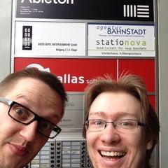 Photo taken at Ableton HQ by Marius K. on 4/30/2014