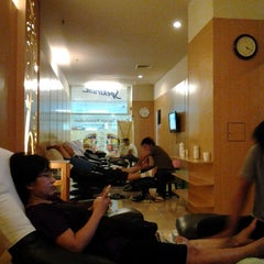 Photo taken at Spektrum Reflexology Plaza Medan Fair by Budiawan H. on 7/7/2014