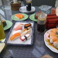Photo taken at Sushi Tei by Agung Y. on 5/23/2013