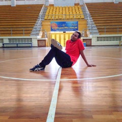 Photo taken at GOR C-Tra Arena by mimiiin 7. on 1/8/2015