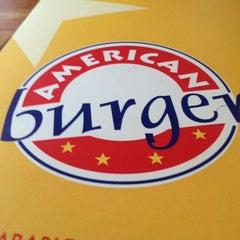 Photo taken at American Burger by Luis H. on 1/29/2013