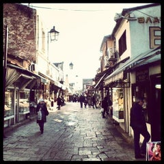 Photo taken at Стара скопска чаршија | Skopje Old Bazaar by Maya P. on 7/2/2013