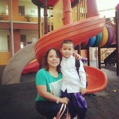 Photo taken at โรงเรียนสายอักษร (Saiaksorn School) by Kat J. on 11/28/2012