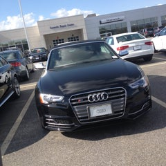 Photo taken at Audi Warwick by Cyn D. on 5/12/2013