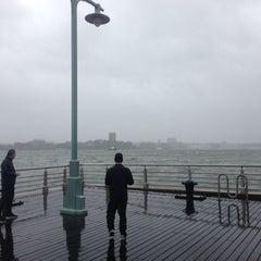 Photo taken at Hudson River Park by Jack D. on 10/29/2012