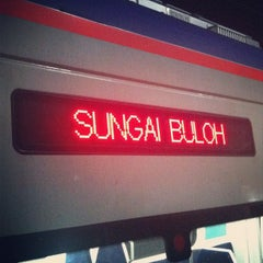 Photo taken at KTM Line - Sungai Buloh Station (KA08) by Syahid S. on 12/17/2012