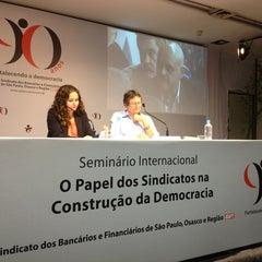 Photo taken at Sindicato dos Bancários by Maria Rosani H. on 4/25/2013
