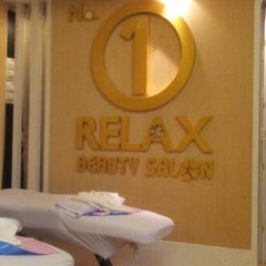 Photo taken at No 1 Relax Beauty Salon by Baldwin N. on 10/13/2012