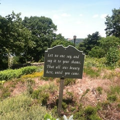 Photo taken at Heather Garden by La A. on 6/23/2014