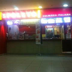Photo taken at Spoleto Culinária Italiana by Wesley C. on 2/19/2013