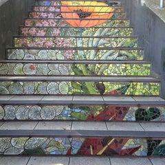 Photo taken at Hidden Garden Mosaic Steps by Mehkta W. on 4/2/2016