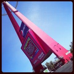 Photo taken at Angel Stadium of Anaheim by Kat on 6/15/2013