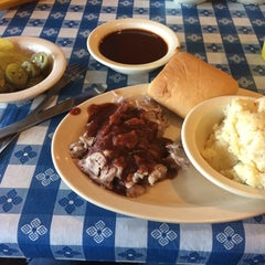 Photo taken at Dickey's Barbecue Pit by Kira B. on 9/18/2014
