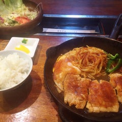 Photo taken at 食事処DON by 聖奈 on 2/21/2016