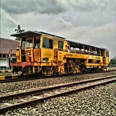 Photo taken at Stasiun Patukan by Wenang E. on 9/23/2014