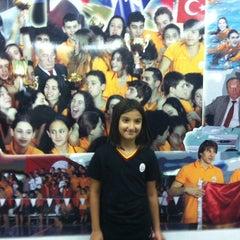 Photo taken at Galatasaray Spor Kulübü Yüzme Şubesi by Nurdan A. on 10/19/2013
