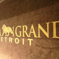 Photo taken at MGM Grand Detroit Casino & Hotel by Conor D. on 5/25/2013