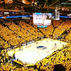 Photo taken at Oracle Arena by Chester N. on 5/3/2013