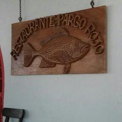 Photo taken at Restaurante Pargo Rojo by Andrés D. on 6/16/2013