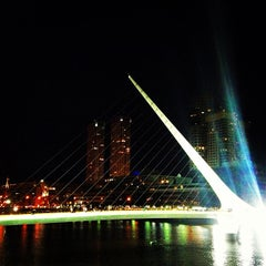 Photo taken at Puerto Madero by Jose Antonio C. on 4/13/2013