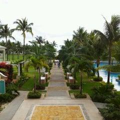 Photo taken at Sugar Beach Mauritius Hotel Resort & Spa by Marcus G. on 10/27/2012