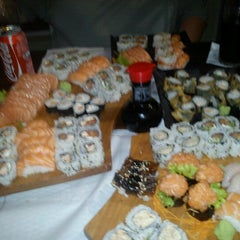 Photo taken at Sushi Drive by Flora C. on 12/28/2012