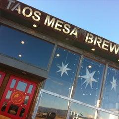Photo taken at Taos Mesa Brewing by Blotch on 2/28/2013